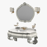 Mobili Di Castello Bathroom Furniture Set